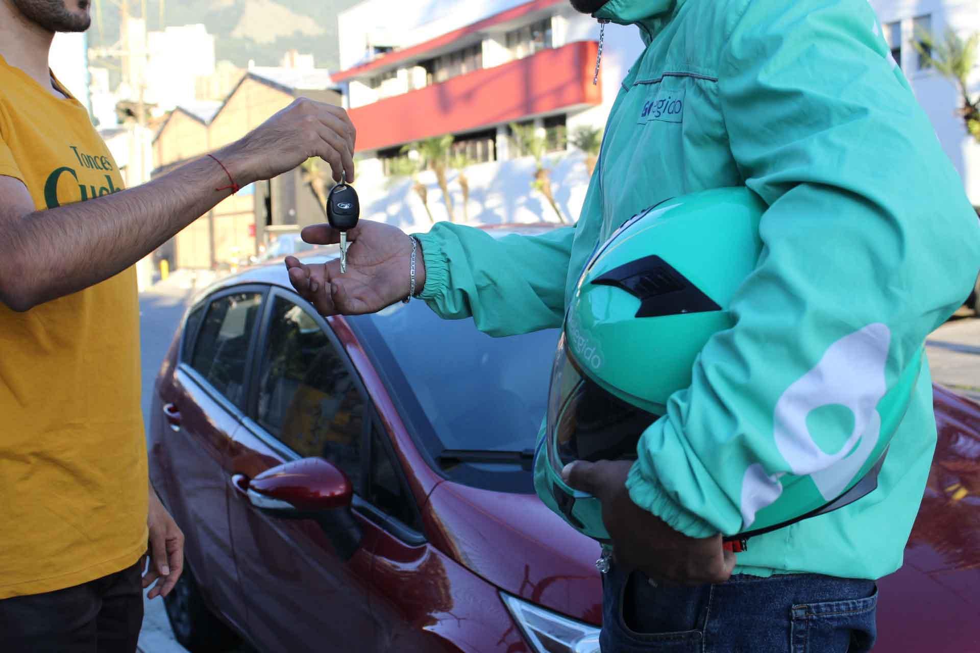 conductor elegido para hoy en Medellin